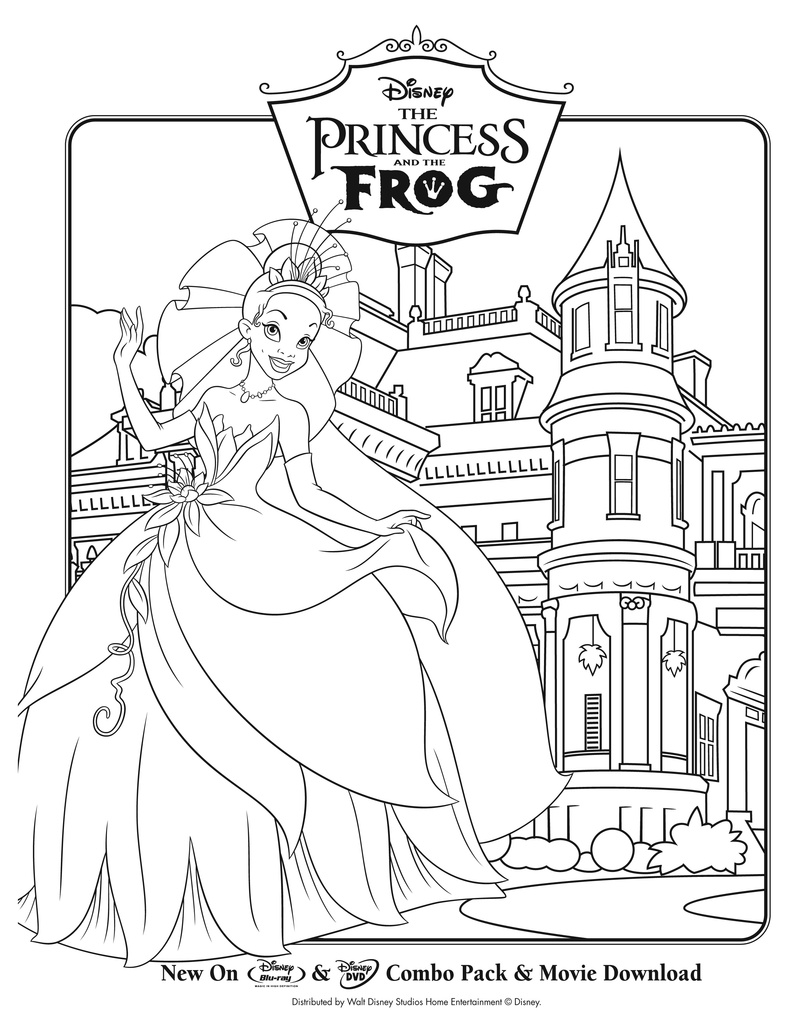 life with lesley free the princess u0026 the frog coloring u0026 activity